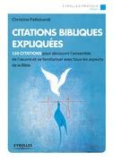 Citations bibliques expliquées