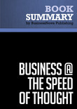 Summary: Business @ The Speed Of Thought - Bill Gates