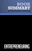 Summary: Entrepreneuring - Steven C. Brandt