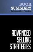 Summary: Advanced Selling Strategies - Brian Tracy