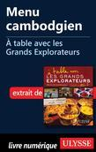 Menu cambodgien - À table avec les Grands Explorateurs