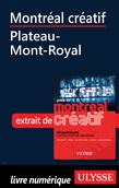 Montréal créatif - Plateau-Mont-Royal