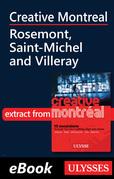 Creative Montreal - Rosemont, Saint-Michel and Villeray