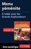 Menu yéménite - À table avec les Grands Explorateurs
