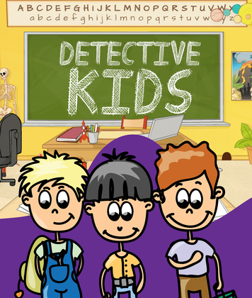 Detective Kids: Children's Books and Bedtime Stories For Kids Ages 3-8 for Early Reading