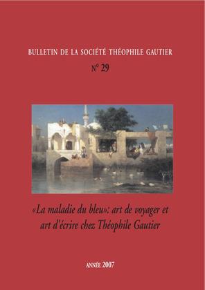 Bulletin de la société Théophile Gautier. N 29