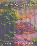 Why We Garden
