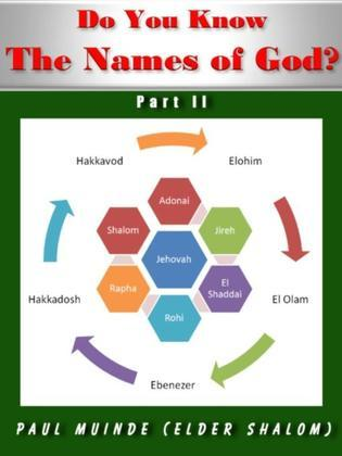 Do You Know the Names of God? Part 2