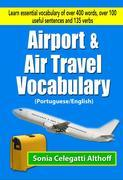 Airport & Air Travel Vocabulary (Portuguese/English)