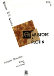 D'Aristote à Plotin