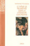Le Thème de Prométhée dans la littérature européenne