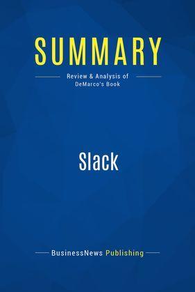 Summary: Slack