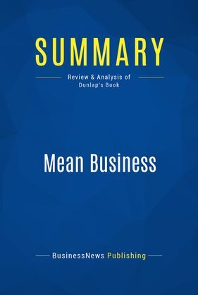 Summary: Mean Business