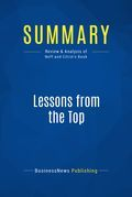 Summary: Lessons from the Top