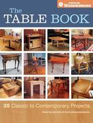 The Table Book: 35 Classic to Contemporary Projects