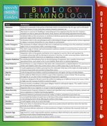 Biology Terminology: Speedy Study Guides