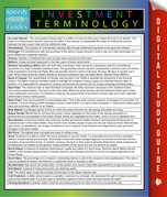 Investment Terminology: Speedy Study Guides