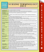 Nursing Terminology 2015