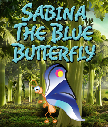 Sabina the Blue Butterfly: Children's Books and Bedtime Stories For Kids Ages 3-8 for Fun Loving Kids