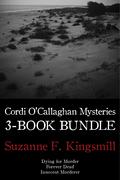 Cordi O'Callaghan Mysteries 3-Book Bundle