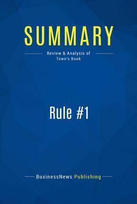 Summary: Rule #1