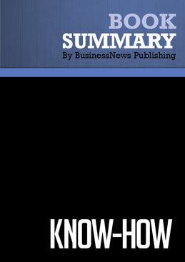 Summary : Know-How - Ram Charan