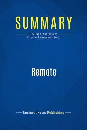 Summary: Remote