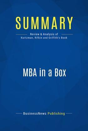 Summary: MBA in a Box