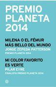 Premio Planeta 2014: ganador y finalista (pack)