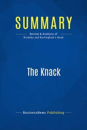 Summary: The Knack