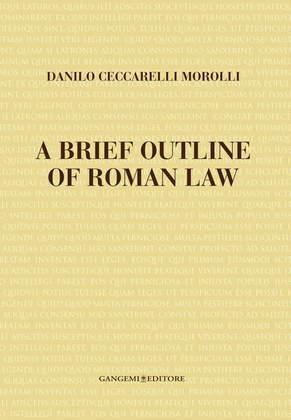 A brief outline of roman law