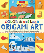 Color & Collage Origami Art: [Downloadable Material Included]