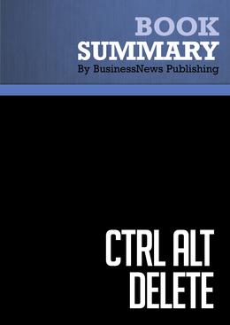 Summary : Ctrl Alt Delete - Mitch Joel