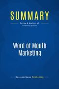 Summary: Word of Mouth Marketing