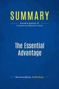Summary: The Essential Advantage