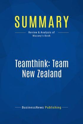 Summary: Teamthink: Team New Zealand
