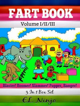 Comic Books For Boys: Fart Books For Kids: Best Graphic Novels For Kids - Vol. 1, 2, 3