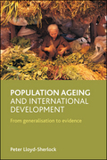 Population ageing and international development