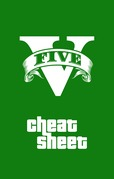 GTA Cheat Sheet