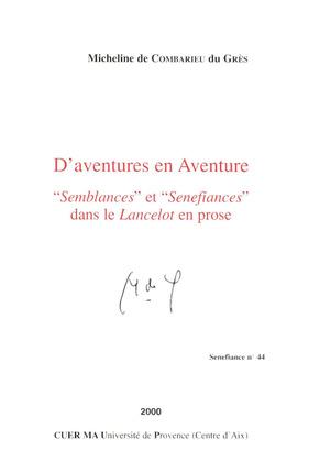 D'aventures en Aventure