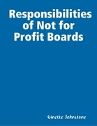 Responsibilities of Not for Profit Boards