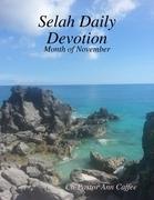 Selah Daily Devotion: Month of November